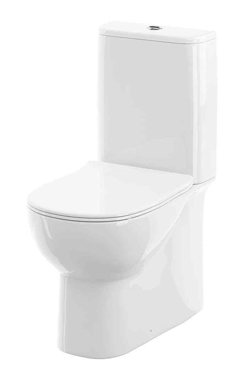 Source Fully Back Wall Toilet Pan Cistern